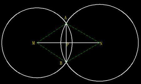 通过平面内不重合的两个圆的圆心的直线叫做这两个圆的连心线.