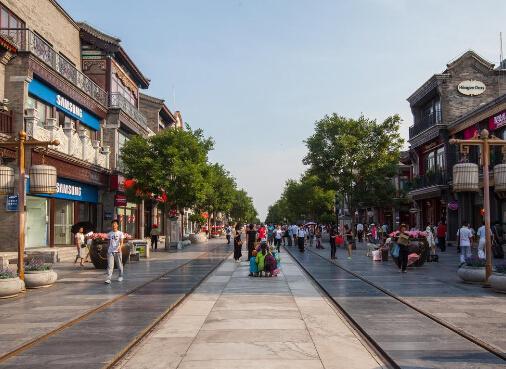 大栅栏 北京市前门外商业街 搜狗百科图片