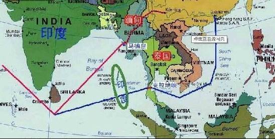 泰国运河马六甲,新加波马六甲海峡图片,中泰克拉地峡运河图片