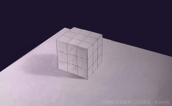 3D铅笔画入门教程