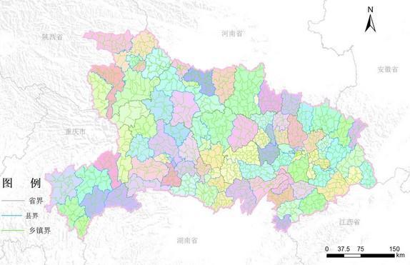 湖北省行政区划