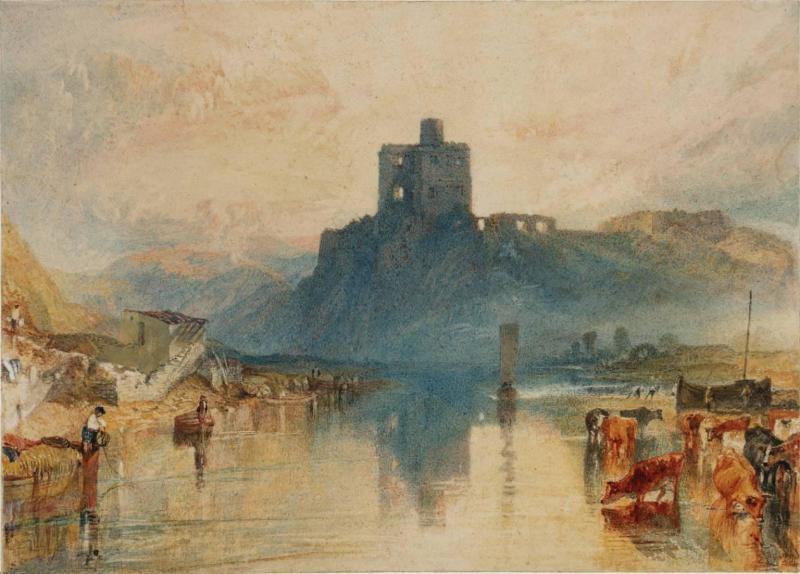 添加义项 同义词  收藏 分享 编辑词条 《诺勒姆城堡,在特威德河之上