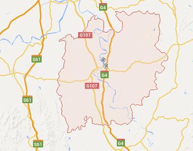 耒阳新版城市规划图