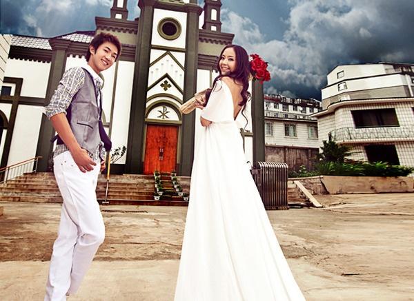 延吉市婚纱摄影公司_...g 21 . 延吉婚纱照 吉林摄影工作室 最好的婚纱摄影