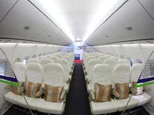 C919机舱内部照片