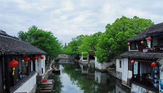 苏州市周庄古镇景区图片
