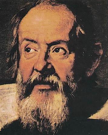 意大利科学家 伽利略像