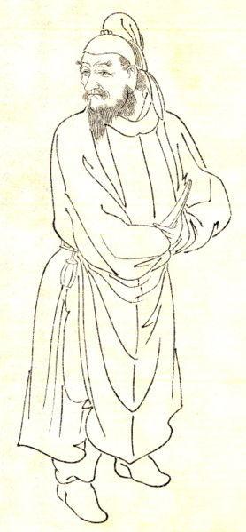 清朝官服 手绘线稿