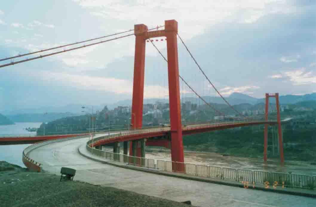 忠县河边风景图