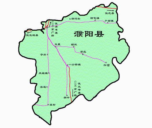 濮阳市区地图高清全图