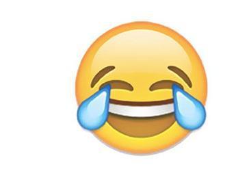 特殊,其实它根本就不是一个词汇,而是我们熟悉的一个emoji表情——笑图片