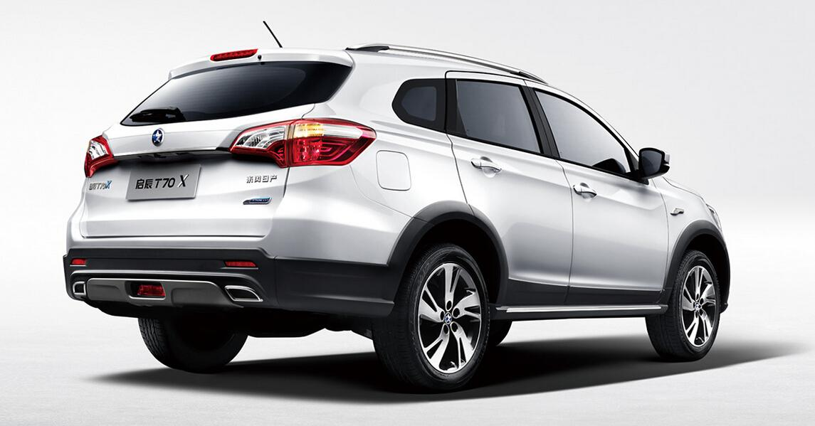 全部版本 最新版本  车型介绍 外观 启辰t70x车型基于在售启辰t70普通