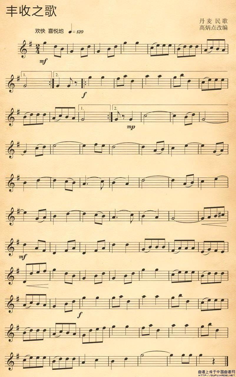 英文歌电子琴简谱