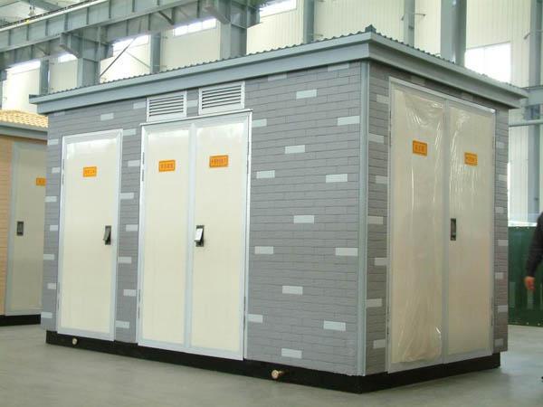 箱式变电站由于结构比较紧凑,每个箱均构成一个独立系统,这就使得