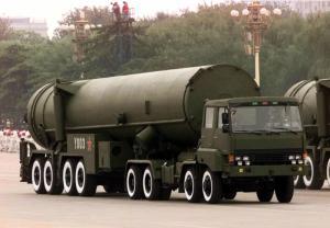 1999年10月1日东风-31导弹