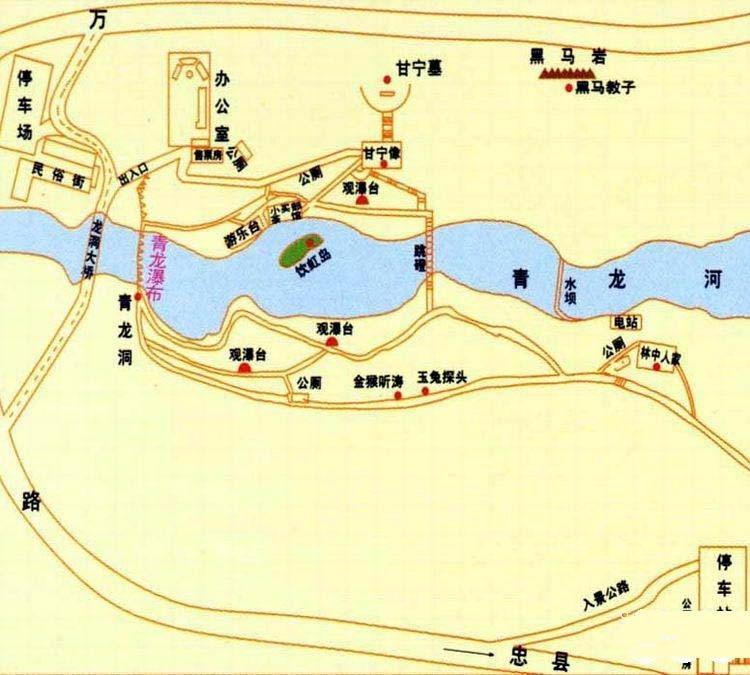 万州风景区图册