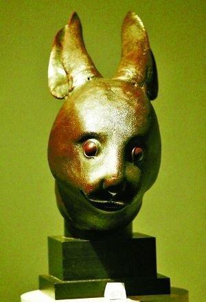 兔首铜像 搜狗百科