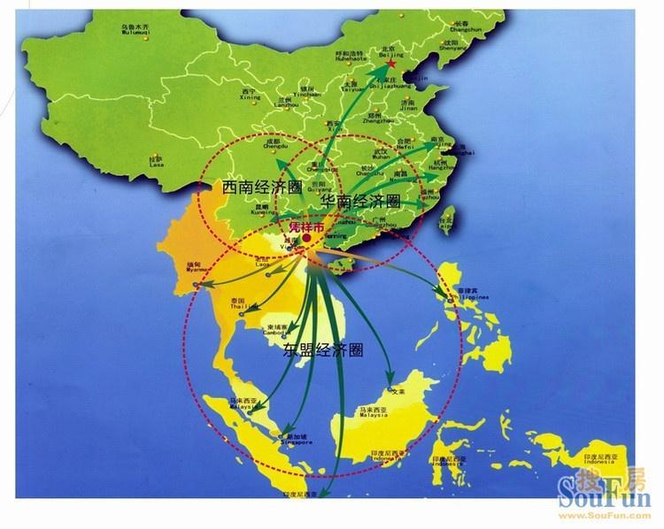 广西北部湾经济区_北部湾城市群发展规划获批复 广西广东海南共同打造面向东盟开放高地