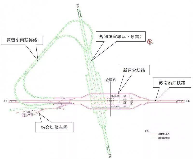 金坛最新规划图