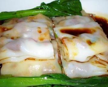 广东小吃--蒸肠粉