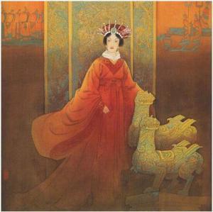 明代后妃制度在洪武初年由太祖朱元璋钦定,其相关条款被写进《皇明