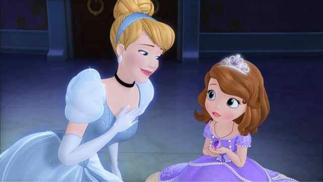 爱丽儿公主 动漫手绘