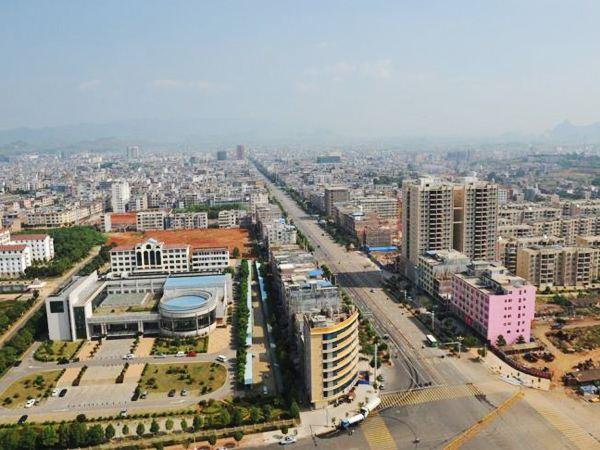 安化县城区规划图