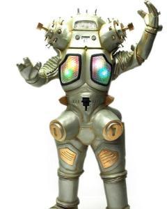 """金古桥是以   奥特曼系列   的著名剧作家   金城哲夫   命名的宇宙机器人,作家从"""""""