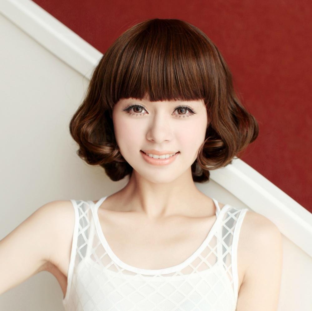 2015女生蛋卷头短发发型图片 短发蛋卷发型图片 发型师姐图片