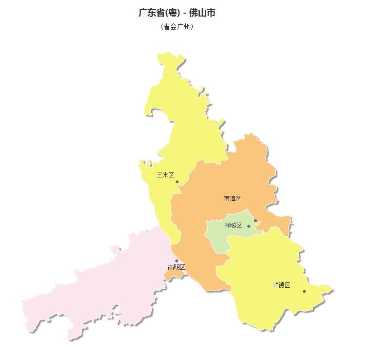 2002年12月国务院批复同意撤销原佛山城区,石湾区合并设立禅城区图片