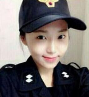 韩国最美女警察