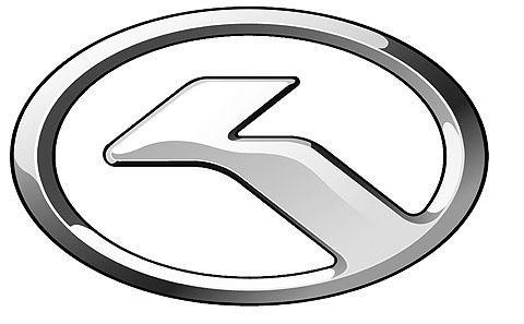 金龙客车图形标识由椭圆形和人字形构成,椭圆形设计源自地球的形状
