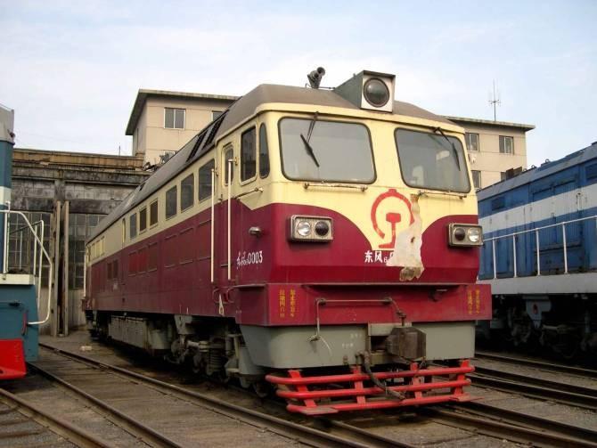 东风6型内燃机车