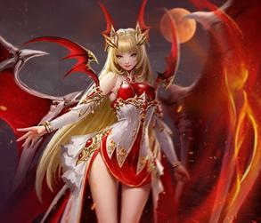 血色公主,是手游《天使纪元》中的精灵.