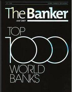 《银行家》(the banker)是源于英国《金融时报》集团的杂志,是为世界
