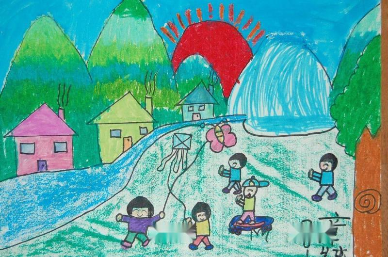 譜曲,留洋填詞,描寫了山水相映,風景如畫的美麗家鄉景色.