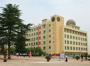 洛南中学图片