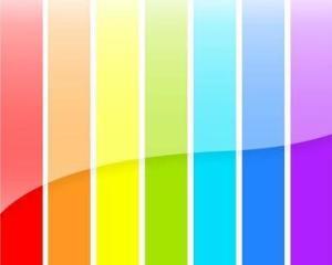 色彩对比有色相对比,明度对比,纯度对比,补色对比,冷暖对比,