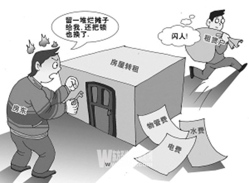 房屋租赁纠纷预案