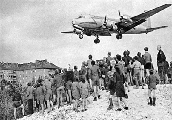 柏林危机飞机结果