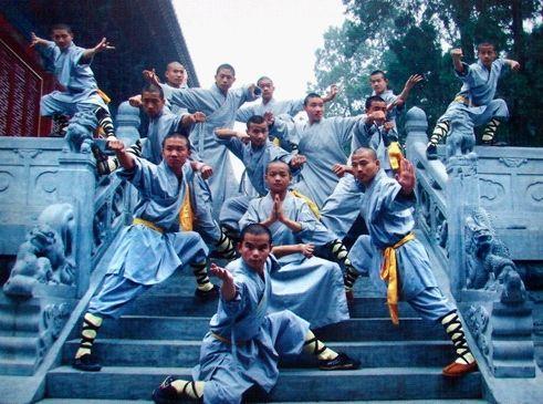 少林寺因武艺高超,享誉海内外,少林一词也成为汉族传统武术的象征之图片
