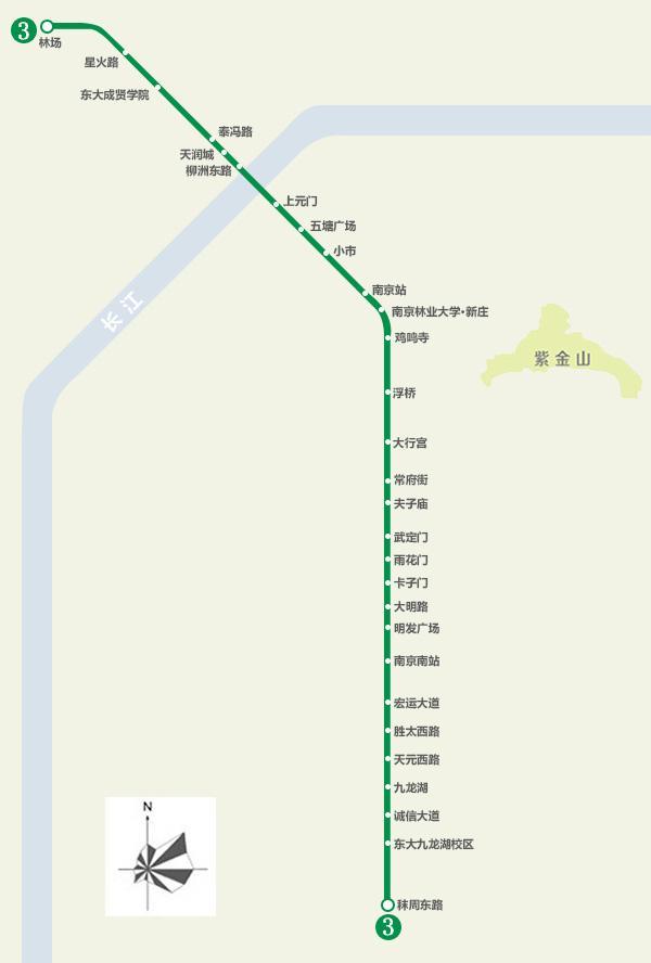 南京地铁1c�{�ޮg� �_南京地铁3号线
