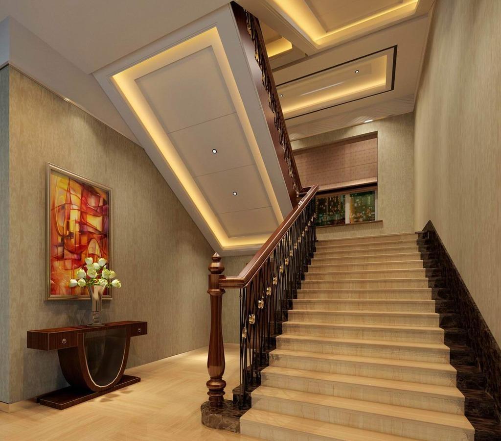 l型楼梯装修效果图