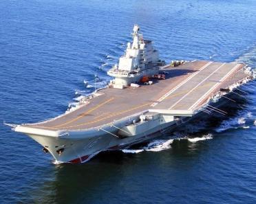 中国辽宁号航空母舰 中国第一艘航空母舰