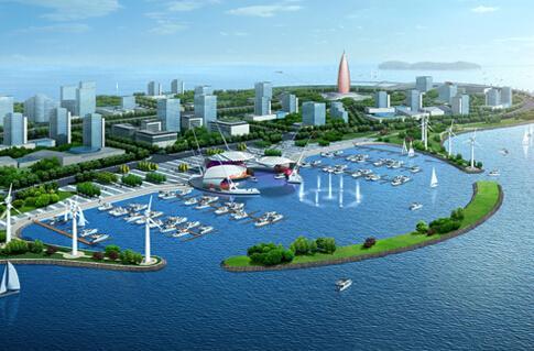 摘要 唐山湾国际旅游岛位于河北唐山市东南部,由菩提岛,月岛,祥云岛以