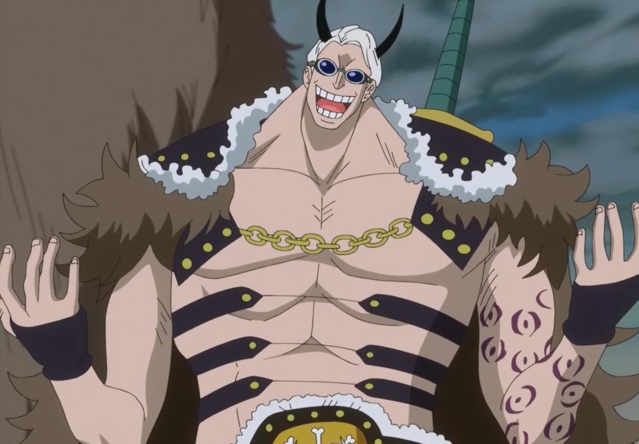 人造恶魔果实能力者,曾与杰克一起在佐乌战斗,与草帽海贼团发生过战斗