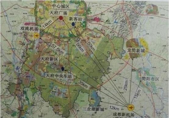 简阳机场位置_成都天府国际机场