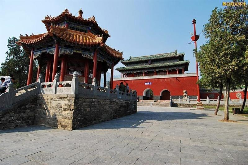 高龙中岳庙