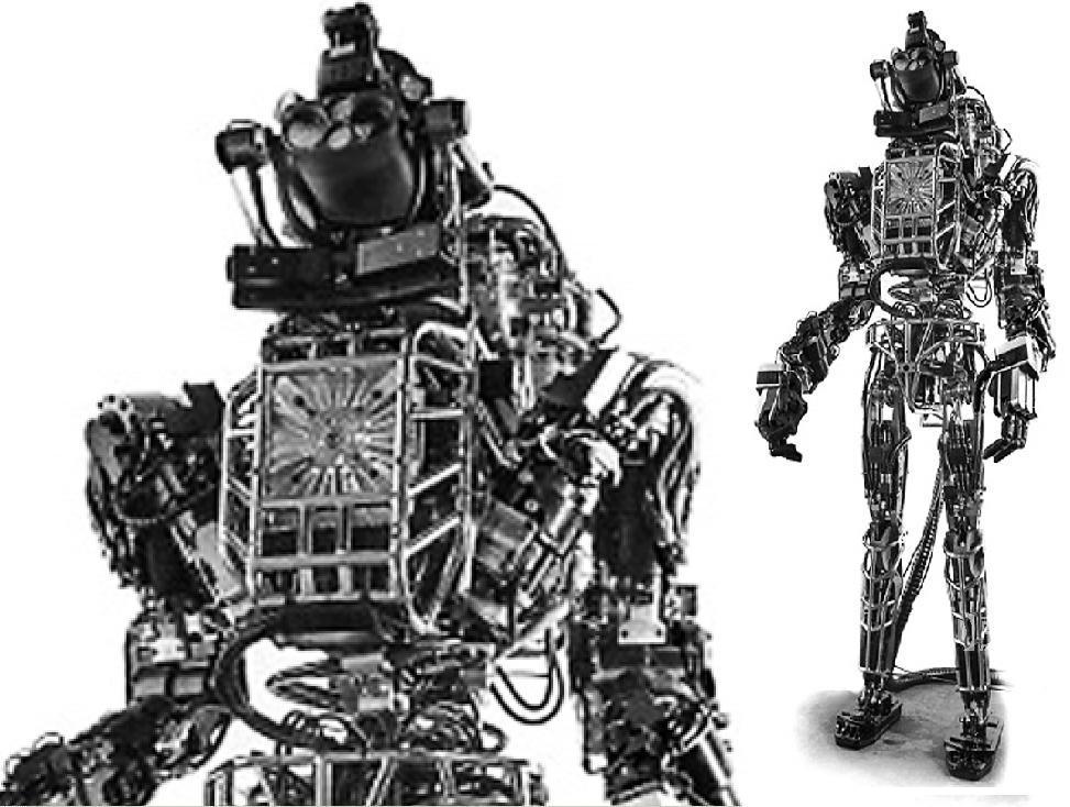 液压控制机器人atlas图片