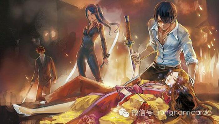 江南所著《龙族》系列小说第三部《龙族3·黑月之潮》中的人物.